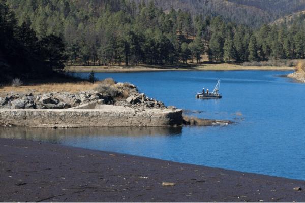 Sediment Coring in Lake Bonito